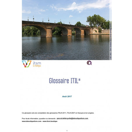 Glossaire ITIL 2011